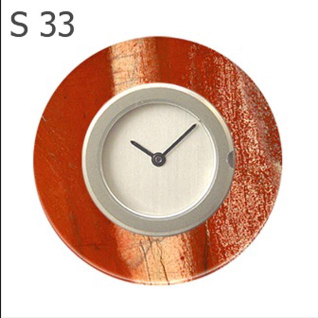 Deja Vu S33 Sierring van Gestreepte Jaspis