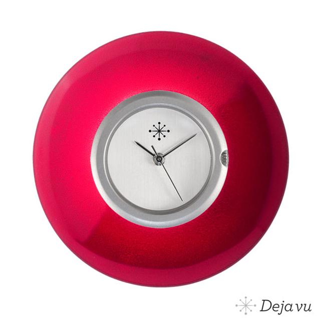 Afbeeldingen van Aardbeirode bolle sierring GL 35