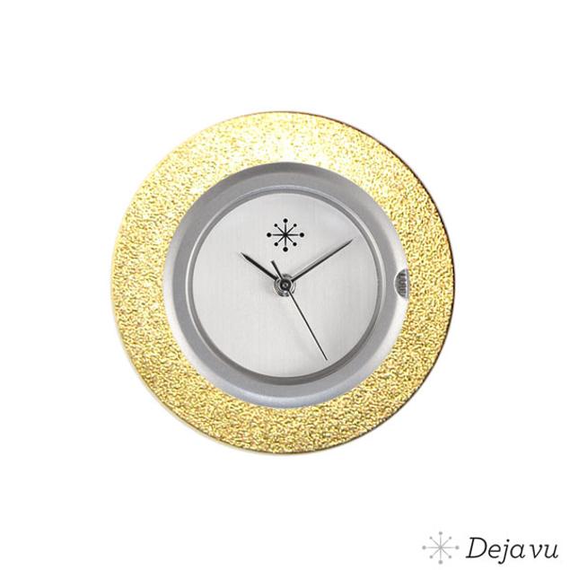 Deja Vu Aluminium gouden sierring A01-02