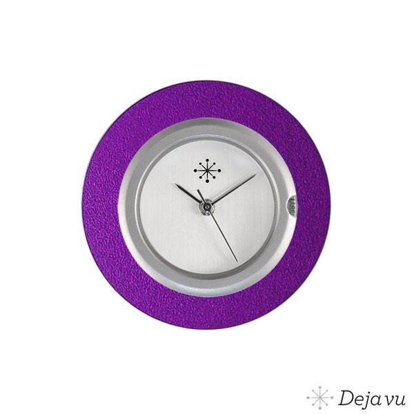 Afbeelding van Aluminium paarse sierring A01-06