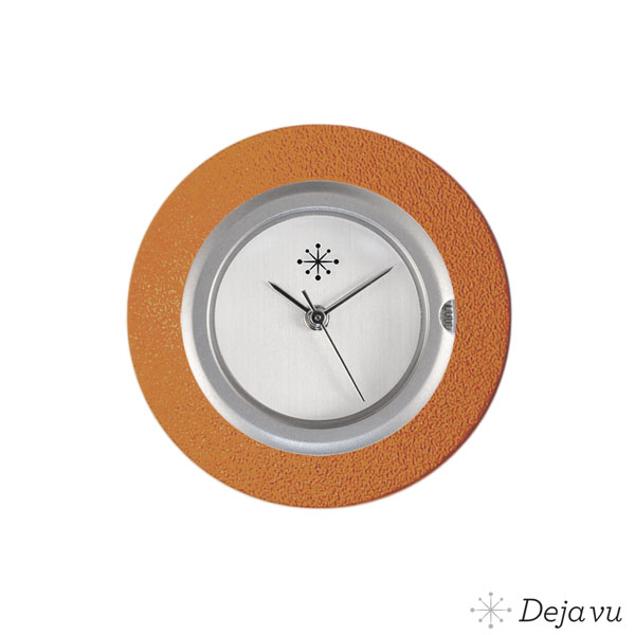 Deja Vu Aluminium oranje sierring A01-11