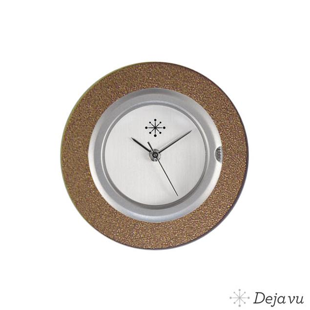Deja Vu Aluminium bruine sierring A01-12