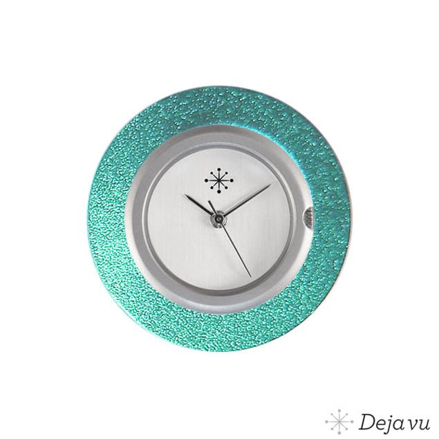 Deja Vu Aluminium blauwe sierring A01-14