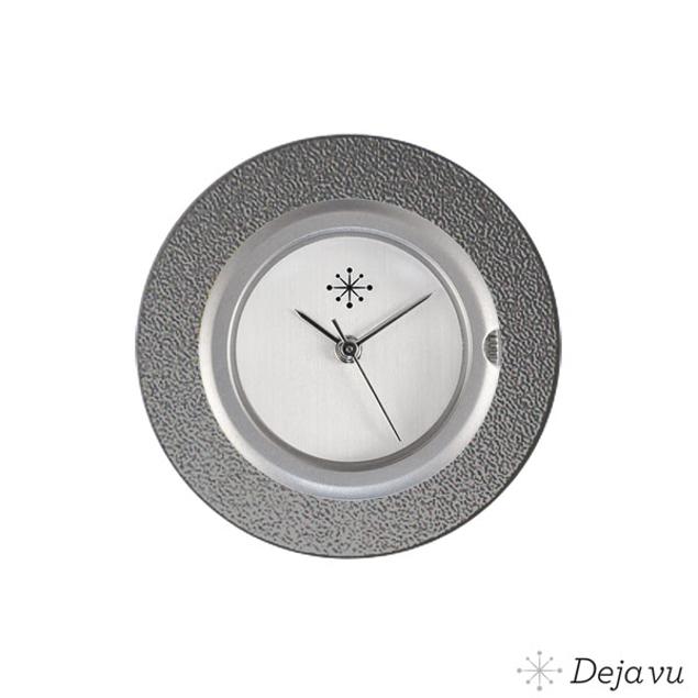 Deja Vu Aluminium grijze sierring A01-16