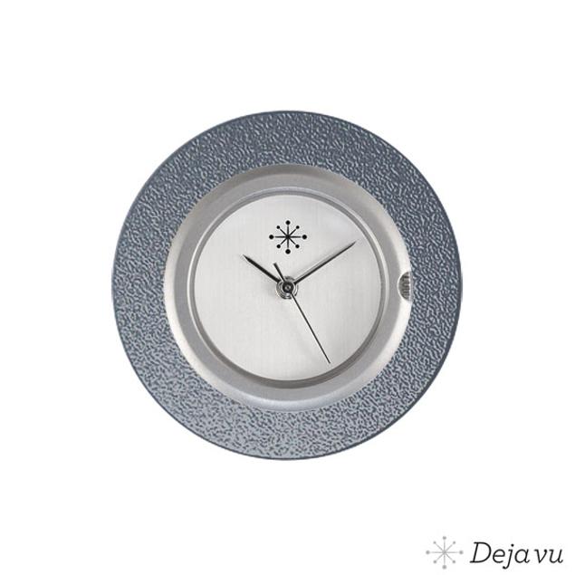 Deja Vu Aluminium blauwe sierring A01-17