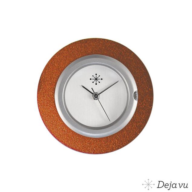 Deja Vu Aluminium oranje sierring A01-20