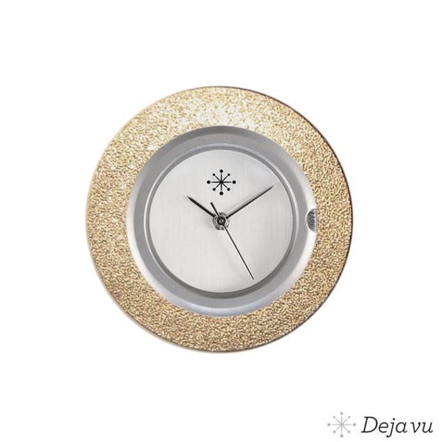 Deja Vu Aluminium gouden sierring A01-21