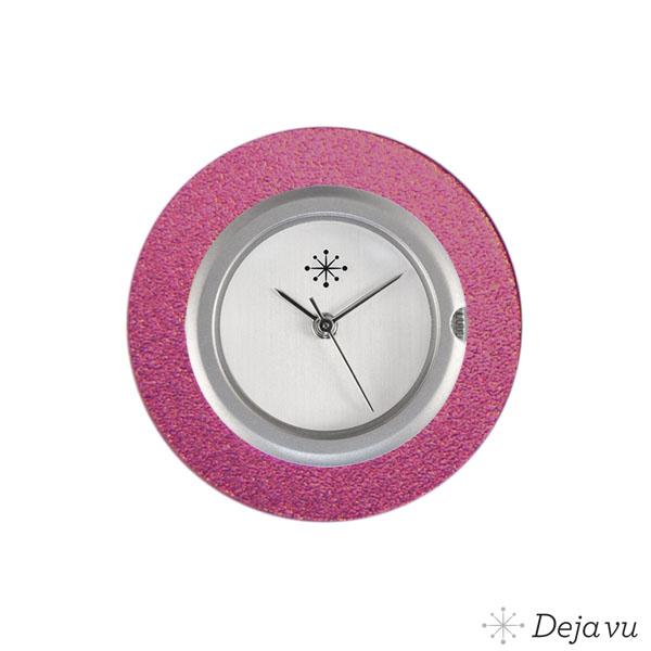 Afbeelding van Aluminium roze sierring A01-23
