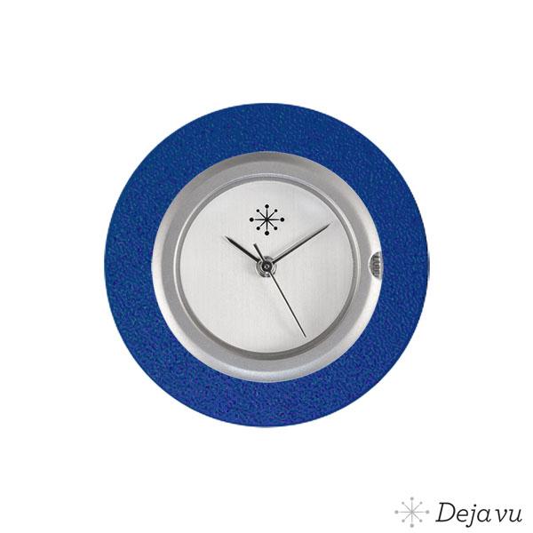 Afbeelding van Aluminium blauwe sierring A01-24