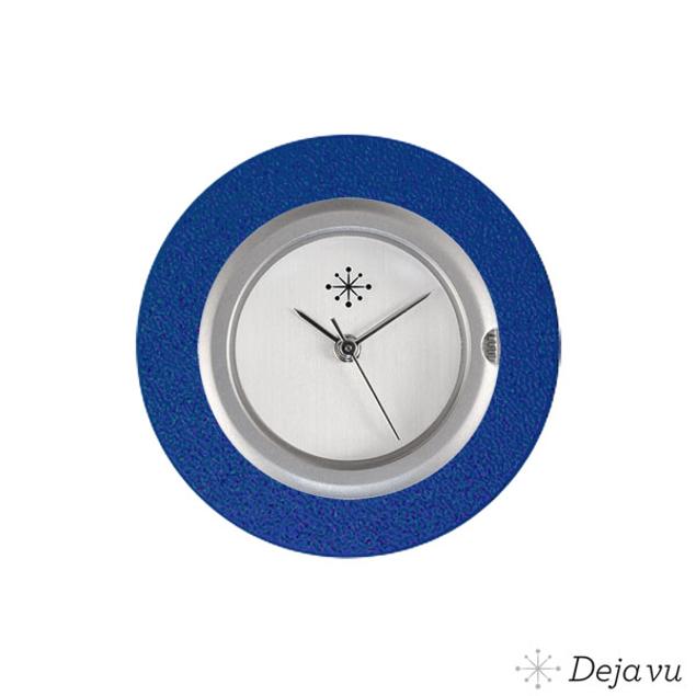 Deja Vu Aluminium blauwe sierring A01-24