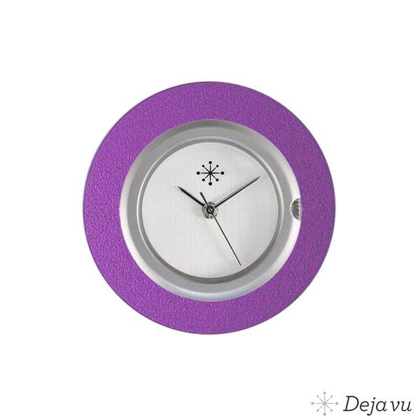 Afbeelding van Aluminium paarse sierring A01-25