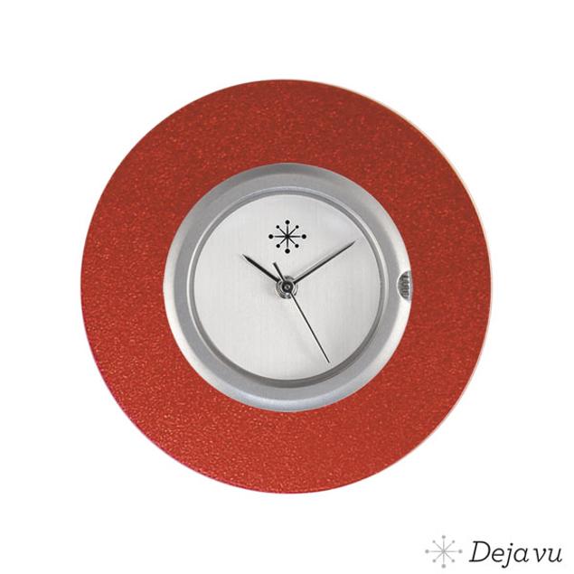 Deja Vu Aluminium rode sierring A02-22