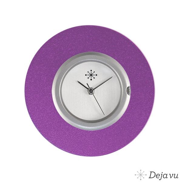 Afbeelding van Aluminium paarse sierring A02-25