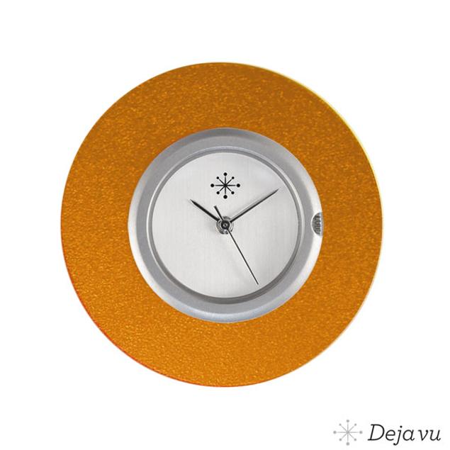 Deja Vu Aluminium oranje sierring A02-11