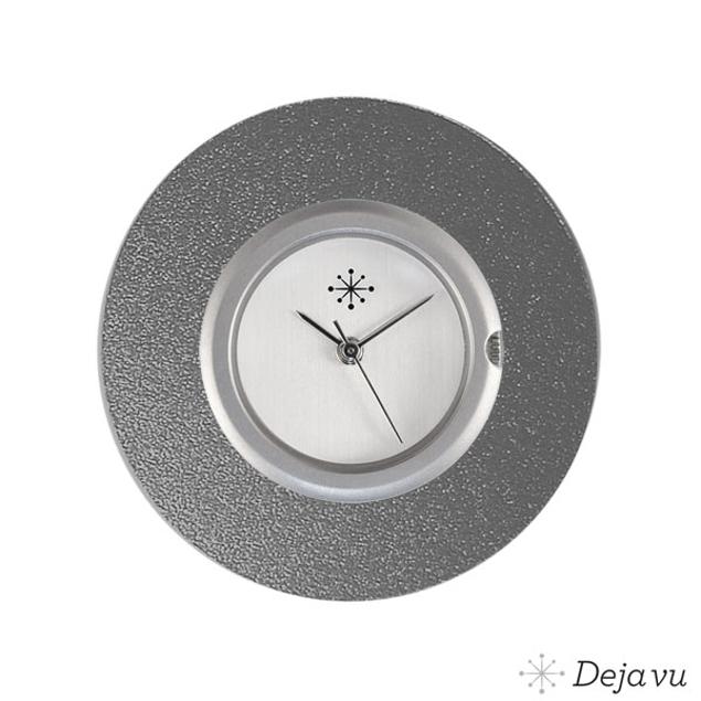 Deja Vu Aluminium grijze sierring A02-16