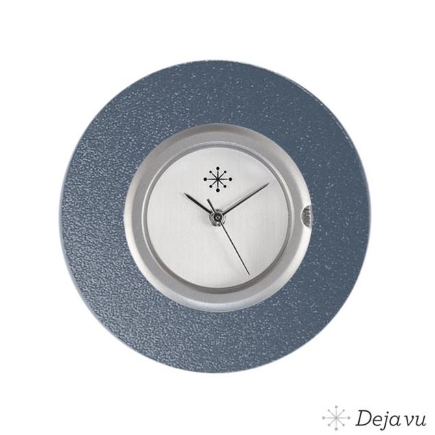 Deja Vu Aluminium grijze sierring A02-17