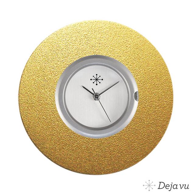 Deja Vu Aluminium gouden sierring A03-02