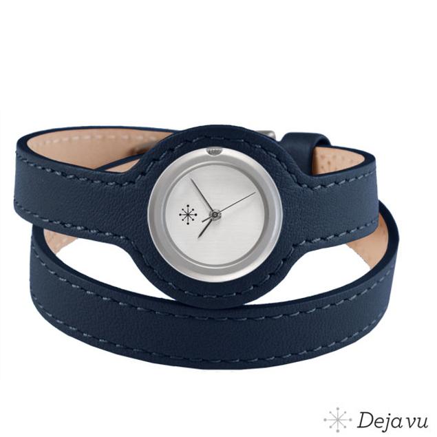 Deja Vu Saffierblauw - wikkelband