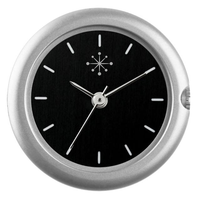 Deja Vu Mat zilver, zwart en streepjes C106