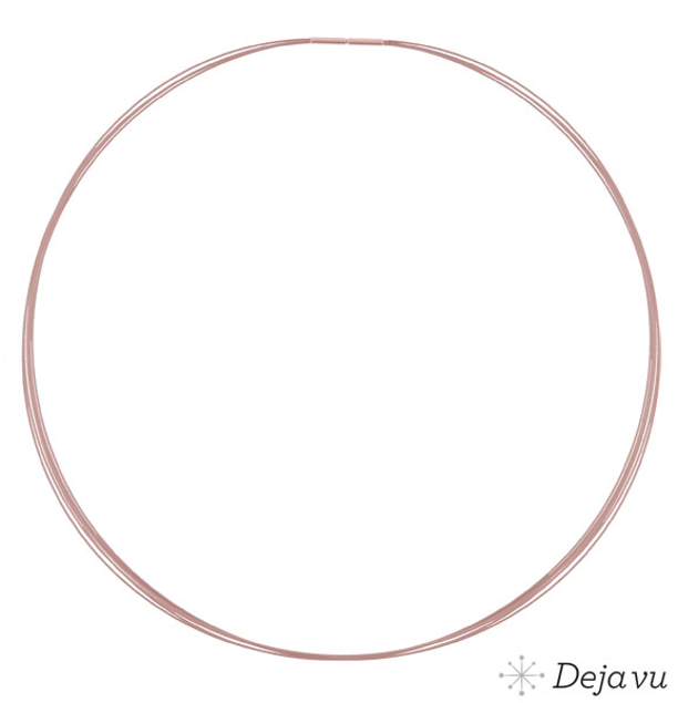 Afbeeldingen van Rosekleurige ketting DVSR