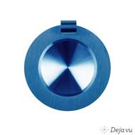 Afbeelding van Glanzend blauw staal