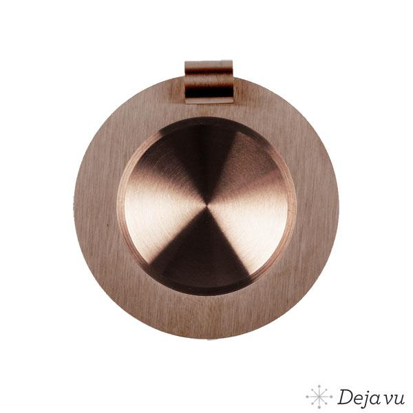Afbeelding van Glanzend bruin staal