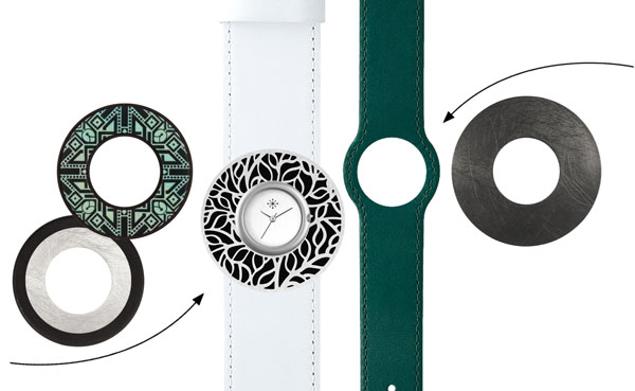 Deja Vu Groen witte set ME 58 - zonder uurwerk