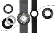Afbeelding van Zwart grijze set ME 110