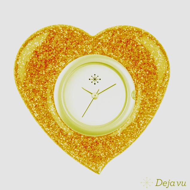 Afbeeldingen van Gouden hart sierring GL 20-1