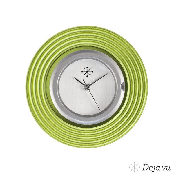 Afbeelding van Aluminium groene sierring A 65-18
