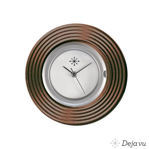 Deja Vu Aluminium bruine sierring A 65-19