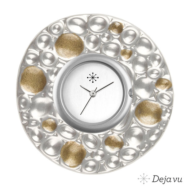 Afbeelding van Gegoten sierring Gu99 goud-zilver