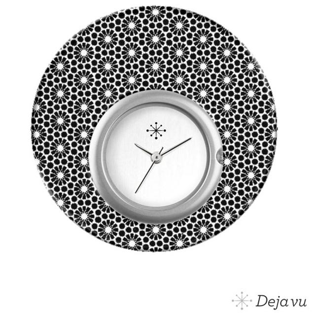 Deja Vu Sierring met print DJV-L5009