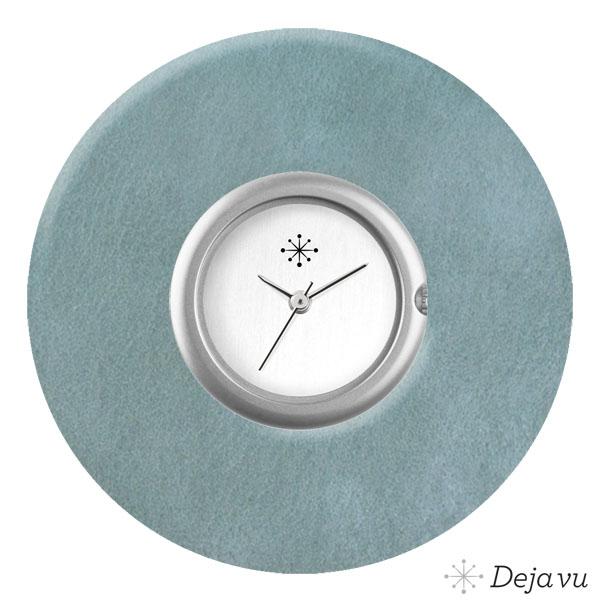 Afbeelding van Kunststof sierring vintage jeansblauw K447e