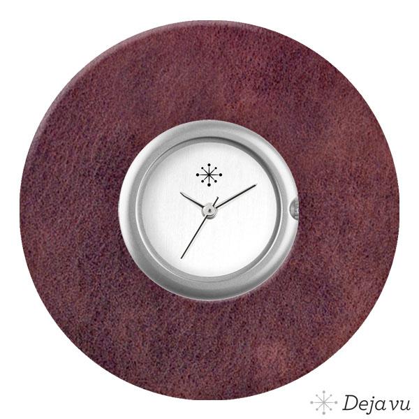 Afbeelding van Kunststof sierring vintage aubergine K455E