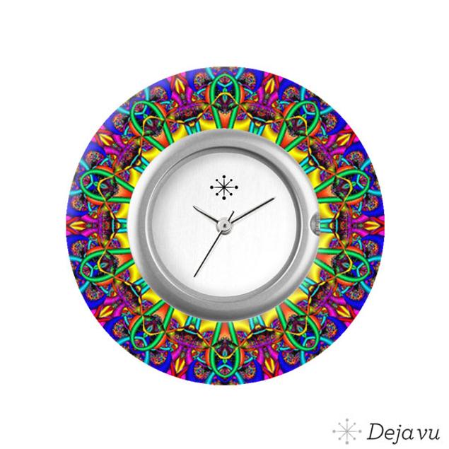 Deja Vu Sierring met print L8022