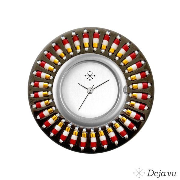 Afbeelding van Edelstalen sierring met kralen EE95