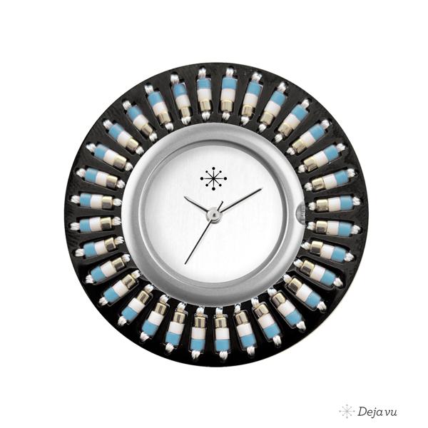 Afbeelding van Edelstalen sierring met kralen EE97