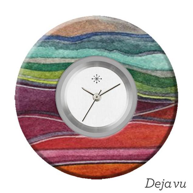 Deja Vu Sierring met print L7089